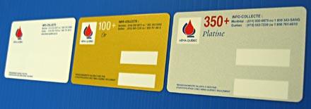 carte donneur de sang Programme de reconnaissance des donneurs